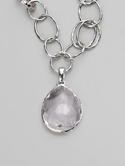 IPPOLITA - Clear Quartz & Sterling Silver Enhancer