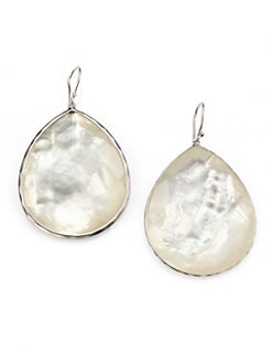 IPPOLITA - Mother-Of-Pearl Doublet & Sterling Silver Teardrop Earrings
