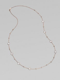 IPPOLITA - Rose Mini Lollipop and Ball Clear Quartz Necklace
