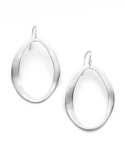 IPPOLITA - Sterling Silver Oval Drop Earrings
