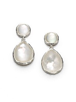 IPPOLITA - Mother-of-Pearl and Sterling Silver Earrings