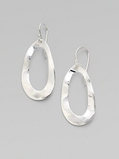 IPPOLITA - Sterling Silver Oval Earrings