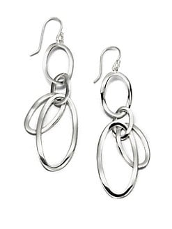 IPPOLITA - Sterling Silver Open Oval Drop Earrings