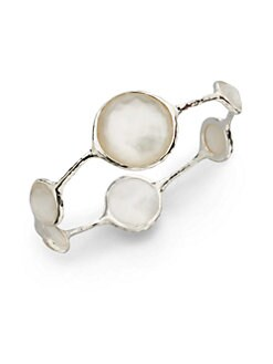 IPPOLITA - Quartz, Mother-of-Pearl & Sterling Silver Lollipop Bracelet/White