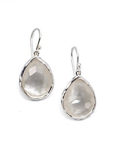 IPPOLITA - Sterling Silver Mother-Of-Pearl Teardrop Earrings