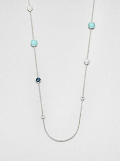 IPPOLITA - Clear Quartz, Mother-of-Pearl and Sterling Silver Necklace