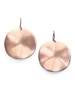 IPPOLITA - Rose Large Wavy Earrings