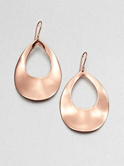 IPPOLITA - Rose Large Open Teardrop Earrings