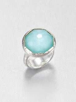 IPPOLITA - Clear Quartz & Mother-Of-Pearl Ring