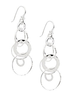 IPPOLITA - Sterling Silver Multi-Link Drop Earrings