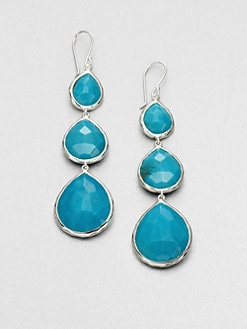 IPPOLITA - Turquoise and Sterling Silver Drop Earrings