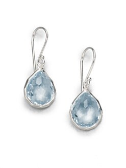 IPPOLITA - Blue Topaz Sterling Silver Teardrop Earrings