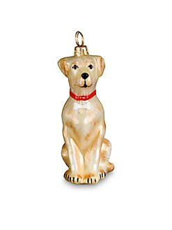 Joy To The World Labrador Retriever Christmas Ornament