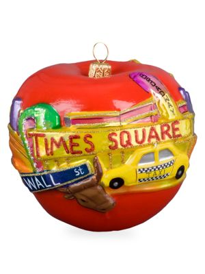 The Big Apple Ornament
