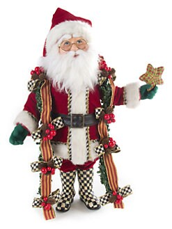 MacKenzie-Childs - Mr. Claus Doll
