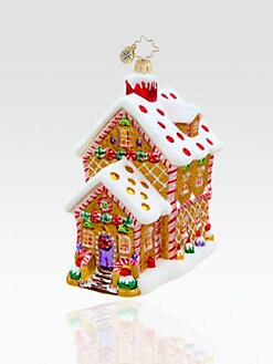 Christopher Radko - House of Sweets Ornament
