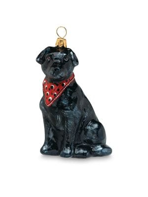 Black Lab Ornament