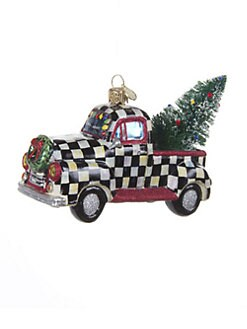 MacKenzie-Childs - Courtly Check Truck Ornament