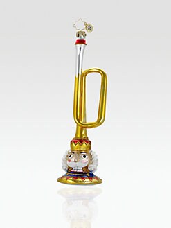 Christopher Radko - Boogie Woogie Bugle Ornament