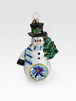 Christopher Radko - Glow in the Snow Ornament