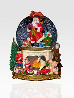 Christopher Radko - Santa & Sweet Treats Snow Globe