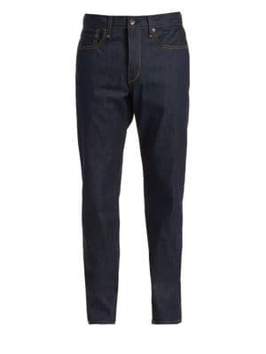 Fit 2 Slim-Fit Raw Jeans