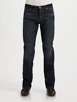 7 For All Mankind - Dune Straight-Leg Jeans
