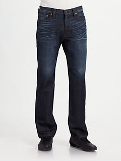 J Brand - Walker Straight-Leg Jeans/Charger