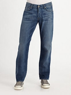 7 For All Mankind - Misawa Straight-Leg Jeans