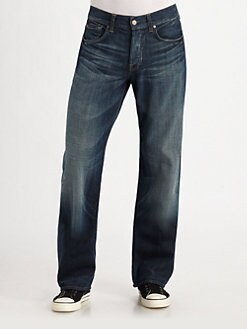 7 For All Mankind - Relaxed-Straight Jeans