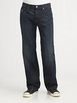 7 For All Mankind - Austyn Vintage Straight-Leg Jeans