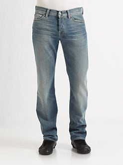 7 For All Mankind - Grants Pass Straight-Leg Jeans