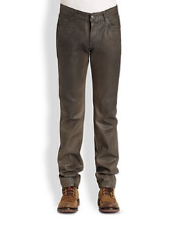 7 For All Mankind - Slimmy Straight-Leg Twill Jeans