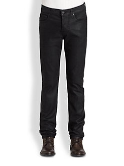 7 For All Mankind - Rhigby Coated Denim Skinny Jeans