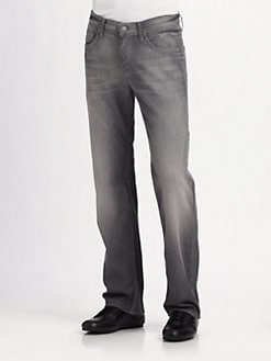 7 For All Mankind - Austyn Dustrial Straight-Leg Jeans