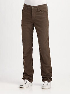 7 For All Mankind - Austyn Straight-Leg Corduroy Jeans
