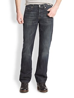 7 For All Mankind - Montana Straight-Leg Jeans