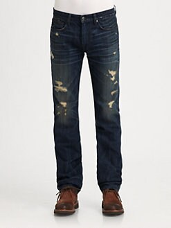 Joe's - Brixton Slim-Straight Distressed Jeans