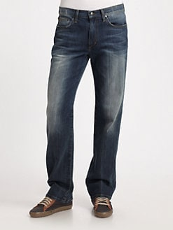 Joe's - Rebel Miller Relaxed-Straight Jeans