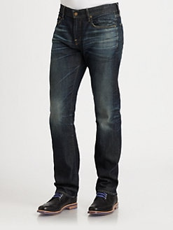 AG Adriano Goldschmied - Geffen Slouchy Slim-Leg Jeans