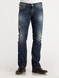 True Religion - Ricky Straight-Leg Jeans