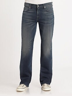 7 For All Mankind - Slate Night Bootcut Jeans