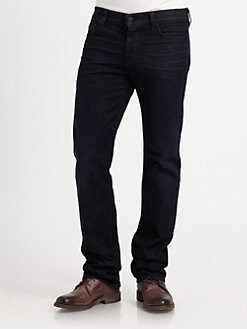 7 For All Mankind - Standard Porter Blue Straight-Leg Jeans