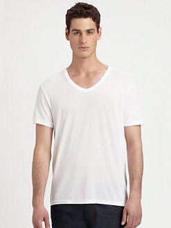 Hudson - Deep V-Neck Tee