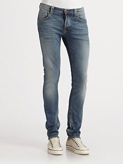 Nudie Jeans - Grim Tim Straight-Slim Jeans