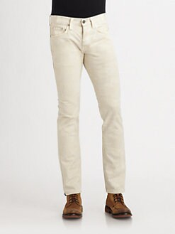 J Brand - Kane Slim-Straight Twill Pants