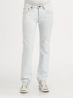 Rag & Bone - Faded Bleachout Denim Jeans