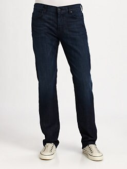 7 For All Mankind - Standard LADK Straight-Leg Jeans