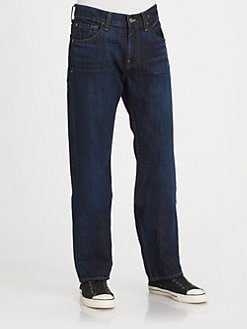 7 For All Mankind - Austyn Relaxed Straight-Leg Jeans