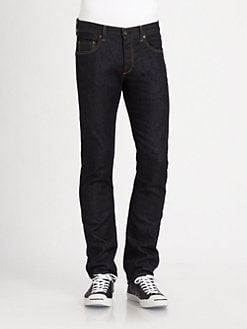 Rag & Bone - Slim-Straight Denim Jeans